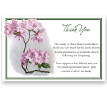 Sympathy Cards: Heritage Rhododendron