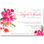 Sympathy Cards: Gathered Flowers