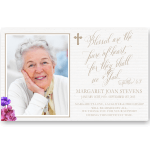 Sympathy Cards: Blessed are those Pure of Heart