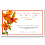 Sympathy Cards: Lilies