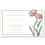 Sympathy Cards: Heavenly Tulips