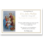 Sympathy Cards: Holy Family
