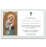 Sympathy Cards: Holy Virgin