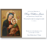 Sympathy Cards: Our Lady of Perpetual Help 1