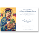 Sympathy Cards: Our Lady of Perpetual Help 2