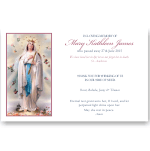 Sympathy Cards: Fatima The Holy Rosary