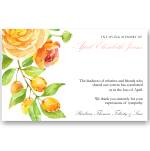 Sympathy Cards: Summer Blooms